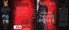 Full US hardcover jacket for A COURT OF THORNS AND ROSES!
