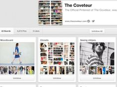 The Coveteur | Community Post: 65 Innovative And Creative Pinterest Accounts That Will Improve Your Life