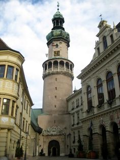 The Fire Tower in Sopron, Hungary