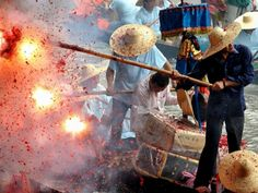 Dragon Boat Festival. Cover your hears and protect your eardrums for this festive season!