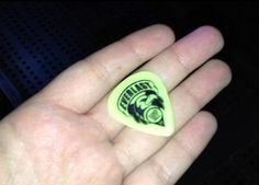 Michael gave his guitar pick to a fan ROWYSO Lisbon, Portugal 5/4/15