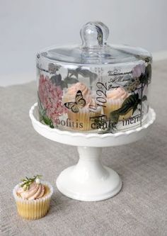 Botanical Petit Fours Stand