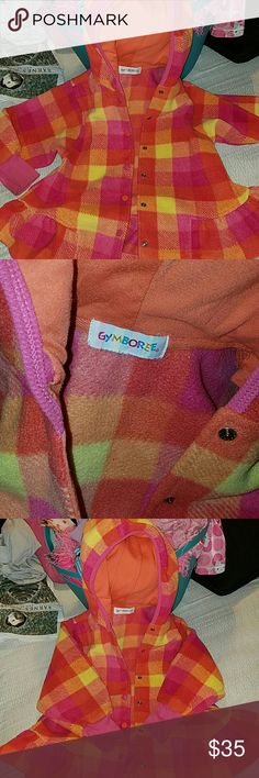 VINTAGE-Gymboree Jacket OMG--Well loved jacket. This belonged to my daughter. I have had it for a few years now. It's used but in good condition. It holds lots of sentimental value. I want it to find a new home. I cut out the tag and I don't remember the size, so I am kinda guessing.  Any questions please ask. Gymboree Jackets & Coats Blazers