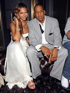 """Never ones to publicly discuss their relationship, Beyoncé and Jay-Z wed in an appropriately tight-lipped fashion. The happy couple wed at a posh penthouse on April 4, 2008 surrounded by only 40 guests, with Beyoncé only recently calling the rapper her """"husband"""" in public."""