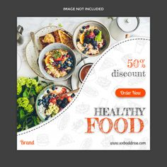 Food Graphic Design, Food Poster Design, Web Design, Web Banner Design, Food Design, Fiesta Baby Shower, Food Banner, Modern Food, Restaurant Menu Design