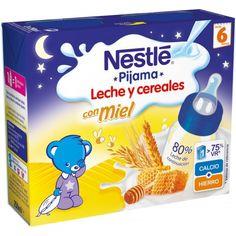 Comprar Papilla Lista para Tomar 8 Cereales con Miel Nestlé 2x250 ml 6m+ - Nestlé by Bebitus