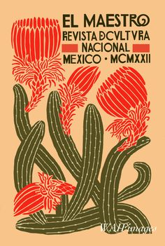 El Maestro Poster Image Vintage Poster Mexican Art - El Maestro Poster Image Vintage Poster Mexican Art Digital Image Magazine Illustration More Information Find This Pin And More On Isla Casa By Michelle Foy Posters Wall, Rock Posters, Mexican Designs, Mexican Graphic Design, Vintage Graphic Design, Magazine Illustration, Cactus Illustration, Art Deco Illustration, Vintage Illustrations