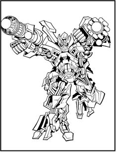 green grimlock coloring pages - photo#38