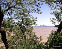 Cleveland from Lakewood Park