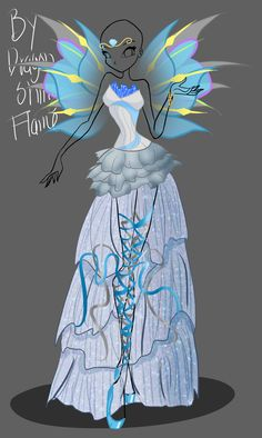 Winx Adoptable: Harmonix + Wings CLOSED by DragonShinyFlame.deviantart.com on @DeviantArt