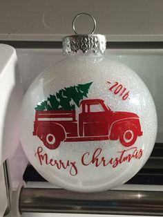 Cricut Christmas Ideas, Christmas Bulbs, Merry Christmas, Holiday Decor, Home Decor, Merry Little Christmas, Decoration Home, Christmas Light Bulbs, Room Decor
