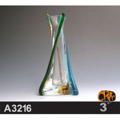 Size: 13X12.2X28cm     Material: Murano glass     Description:  All of our glass crafts are true hand blown. They are different from the other glass crafts which are made by machine. Our glass crafts are handicraft in its true sense. Our products are international certified, they are controled in the standard quality field. Now we have some stocks to sell,and the real products will look exactly the same as photos.
