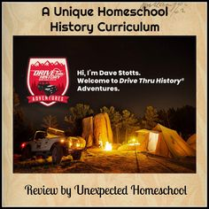 Unexpected Homeschool: Review of Drive Thru History Adventures -  Subscription Homeschool History Curriculum. @drivethruhistory
