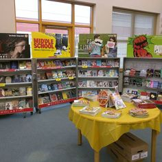 Book Fair @ MHS! Stock up on your favorites! #bookfair #library #southamboypride
