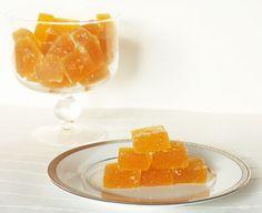 Kumquat Pate de Fruit  (I am so never making this but I do love Pate de Fruit)
