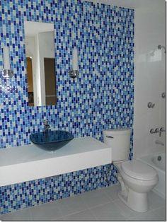 Mosaic Tiles, Wall Tiles, Laundry In Bathroom, Beautiful Bathrooms, Carpets, Floors, Facebook, Mirror, House
