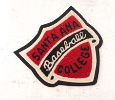 Hello! For Your Consideration: a great vintage sports patch from Pacific Athletic Company. Condition & Description: 1950s-60s. Excellent