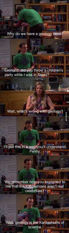 Geology and the Kardashians