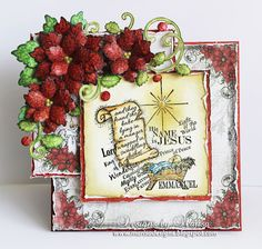 Designs by Marisa: Heartfelt Creations - Sparkling Poinsettia Collect...