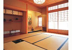 Japanese Home Design, Traditional Japanese House, Japanese Interior, Washitsu, Tatami Room, Zen Room, Japanese Architecture, House Roof, Dojo