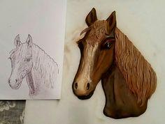 Horse's Head Horse Head, Moose Art, Horses, Cakes, Horse, Pastries, Torte, Cookies, Words