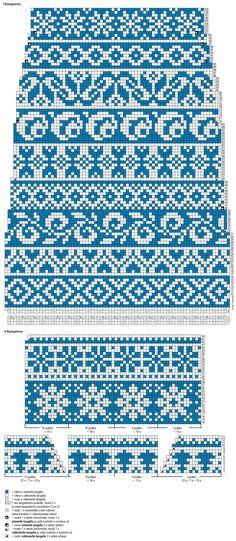 Fair Isle Knitting Patterns, Fair Isle Pattern, Knitting Charts, Loom Knitting, Knitting Stitches, Knitting Socks, Free Knitting, Fair Isle Chart, Fair Isles