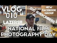 VLOG 010: Happy Analog Film Photography Day + EXTRAS! Photography Day, Video Capture, Happy, Happiness, Being Happy