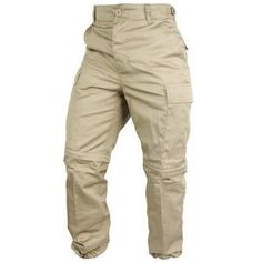 Hot Weather Gear | Army and Outdoors | Army & Outdoors  Khaki Zip Off BDU Trousers Can't decide on a pair... Mesh T Shirt, T Shirt And Shorts, Battle Dress, Desert Camo, British Army, Khaki Pants, Trousers, Weather, Outdoors