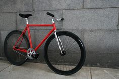 red track bike superb bicycle
