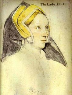 The Lady Eliot   by Holbein   on Retronaut