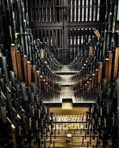 Organ at Longwood Gardens  #longwoodgardens #organ #sheetmusic #music #pipeorgan…