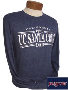 UC Santa Cruz Dad Tee, Super soft.  #fathersday #ucscbaytree
