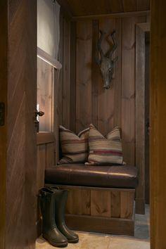 Living at Mountain Lodge Trysil Chalet Design, Chalet Style, House Design, Ski Chalet, Bohinj, Winter House, Winter Cabin, Cabin Interiors, Mountain Homes