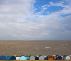 my own photo of beach huts at whitstable :)