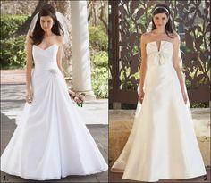 Noivas baixinhas:  evitar saias armadas ou vestidos volumosos.  #vestidodenoiva  #baixinhas #dicas #casamento #casare #elegante