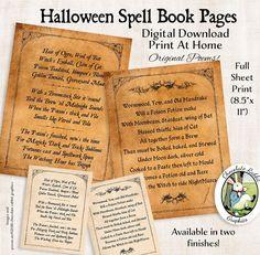 Halloween Spell Book, Halloween Spells, Witch Spell Book, Halloween Crafts, Halloween Ideas, Halloween Party, Spell Books, Halloween Games, Halloween 2020