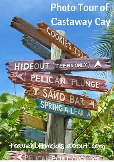 Take a tour of Castaway Cay, Disney Cruise Line's private island   About.com Family Vacations #cruise #disneycruise #castawaycay