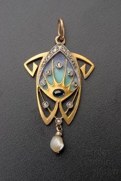 Jewelry designs by Alphonse Mucha - Jewelry designs by Alphonse Mucha - . - Jewelry designs by Alphonse Mucha – Jewelry designs by Alphonse Mucha – - Bijoux Art Nouveau, Art Nouveau Jewelry, Jewelry Art, Antique Jewelry, Jewelry Gifts, Vintage Jewelry, Jewelry Design, Jewellery Uk, Pearl Jewelry