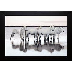 Jorge Llovet 'Calm Waters' Framed Artwork