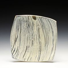 Matthew Krousey Square Cut Platesoda fired stoneware, slip and glaze2x8.5x8.5