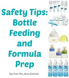 Great tips! Bottle Feeding Safety Tips and Formula Prep   The Jenny Evolution