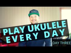 Switching to the G ukulele chord can be tricky, but I'm going to give you some pointers on how to make it a breeze. Join me for Day 3 and keep playing ukulel. Ukulele Chords, Types Of Music, Songs, Play, Learning, Youtube, Free, Studying, Teaching