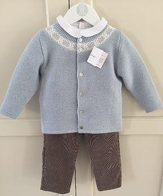 2e26959db22f 7 Best Baby boy newborn - Knitted sets - babymaC Stylish Spanish ...