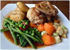 Whim Wham Cafe, Manchester - Roast Chicken