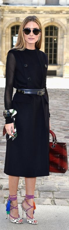 We'll always love Olivia Palermo's Tassel-Embellished Shoes from this throwback Fashion Week outfit.