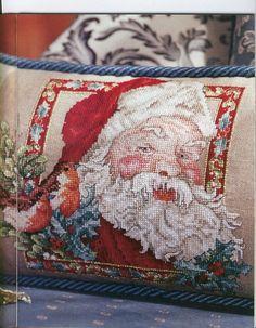 Cross-stitch Santa Pillow, part 1...     (2) Gallery.ru / Foto # 23 - BHG CS CHR 2001 - natalytretyak