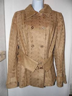 Stunning Lavantino Jacket in suede like size M kitten soft amazing workmanship #lavantino #BasicJacket