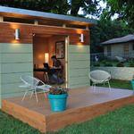 Kanga Studio: Modern -  exterior doors open