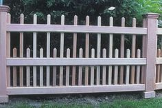 Wooden Fence components made out of Western Red Cedar | New England Woodworks