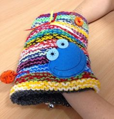 You can knit sensory bands and help dementia sufferers...